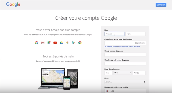 Créer-compte-Google